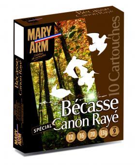 Cartouche Bécasse canon rayé de Mary-Arm