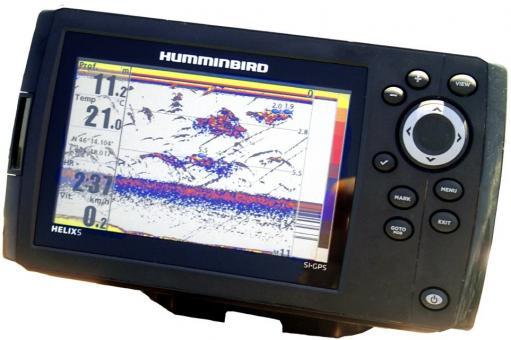 L'écho-sondeur Helix 5 d'Humminbird