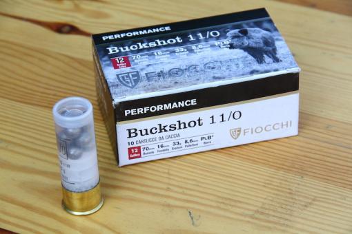 Munitions Buckshot de Fiocchi