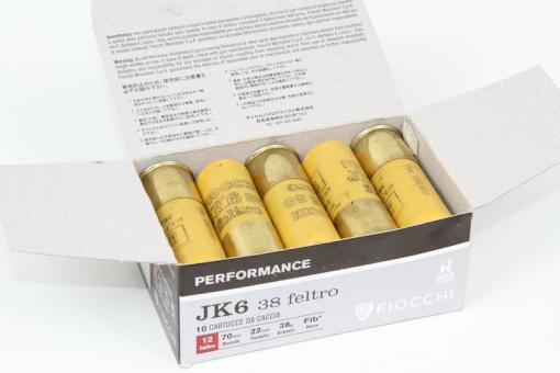 Munitions JK6 38 feltro de Fiocchi