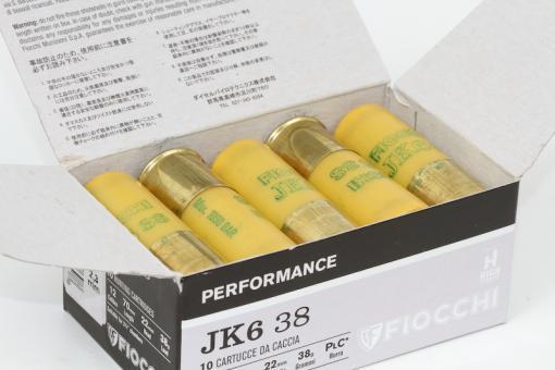Munitions JK6 38 de Fiocchi