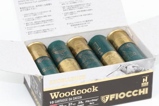 Munitions Woodcock Excellence de Fiocchi