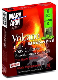 Cartouches Volcano grands gibiers de Mary Arm