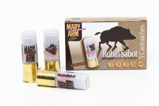 Balle Rubin Sabot de Mary Arm