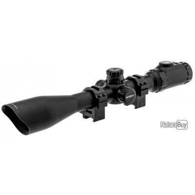 Lunette de tir UTG Mildot illuminée 4-16 x 44 mm