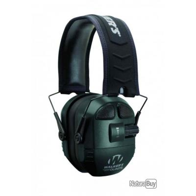 Casque Walker's Ultimate Power Muff Quads 360 Noir