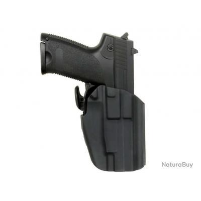 Holster ceinture rigide pour G17/HK45/P226/M9 noir - Sport Attitude