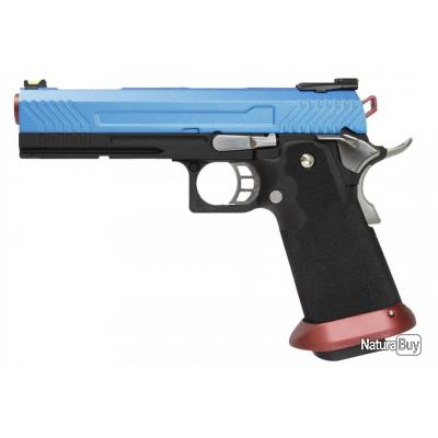 Réplique HX1102 FULL BLUE gaz GBB - AW Custom