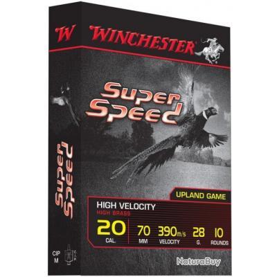 Cartouches Winchester Super Speed G2 - calibres 20/70