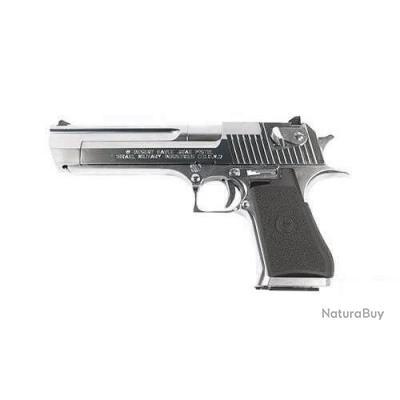 Réplique pistolet gbb à gaz Desert Eagle silver 0,8J - HFC