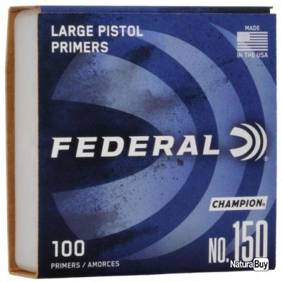 Amorce Federal Small Pistol Magnum
