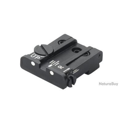 Hausse LPA réglable pour Glock 17 à 35