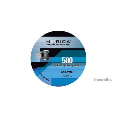 Plombs Match 4.5mm de 0.45gr par 500