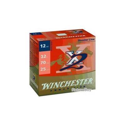 Cartouches Winchester de Trap X2 - Cal. 12/70
