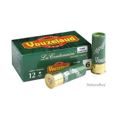 Cartouches Vouzelaud - La Centenaire tube carton - Cal. 12/65