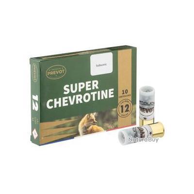 Cartouches Prevot chevrotines subsonique - Cal. 12/67