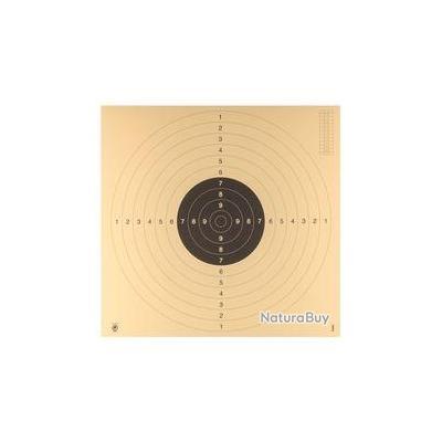 10 cibles C50 hydrofuge 55 x 55 pistolet ou carabine