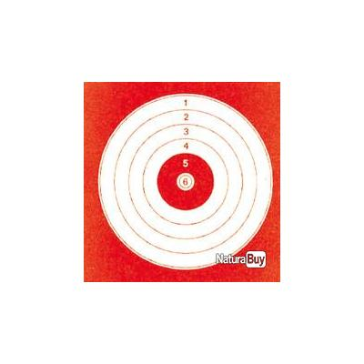 1000 cibles cartonnées 14 x 14 cm