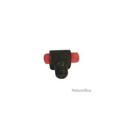 Guidon fluo micro rouge à visser Diam. 2,6 mm