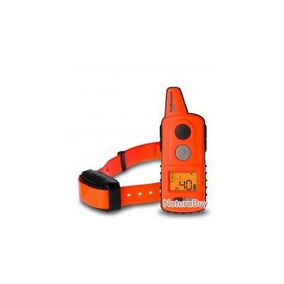 Collier de dressage professionnel 1000 ou 2000 m - Collier Pro 2000 et télécommande 2 km - Orange