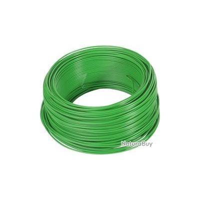 Bobine de 100 m de fil électrique pour clôture d-fence DogTrace. Diamètre 2,5 mm
