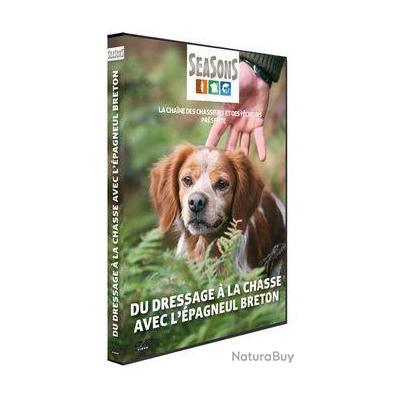 DVD Seasons - Vidéo chasse - Du dressage à la chasse avec l'épagneul breton
