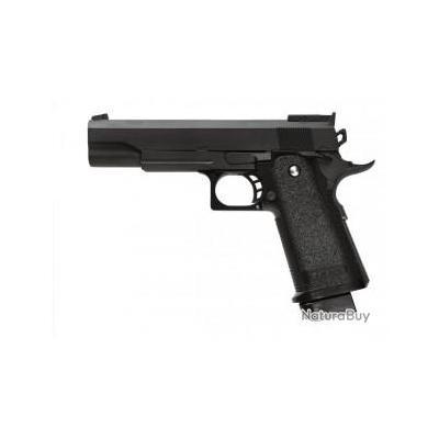 Réplique pistolet à ressort Galaxy G6 full metal 0,5 joules