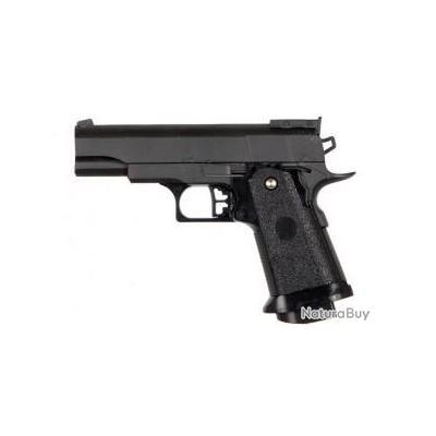 Réplique pistolet à ressort Galaxy G10 full metal 0,5 joules