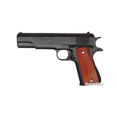 Réplique pistolet à ressort Galaxy G13 full metal 0,5 joules