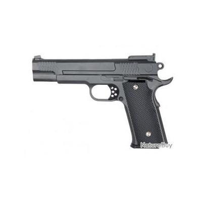 Réplique pistolet à ressort Galaxy G20 full metal 0,5 joules