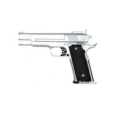 Réplique pistolet à ressort Galaxy G20 OR - full metal 0,5 joules