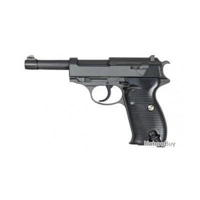Réplique pistolet à ressort Galaxy G21 P38 full metal 0,5 joules