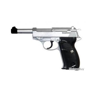 Réplique pistolet à ressort Galaxy G21 P38 - full metal 0,5 joules