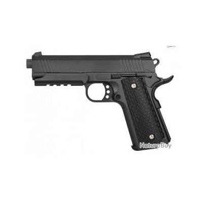 Réplique pistolet à ressort Galaxy G25 M1911 MEU full metal 0,5 joules