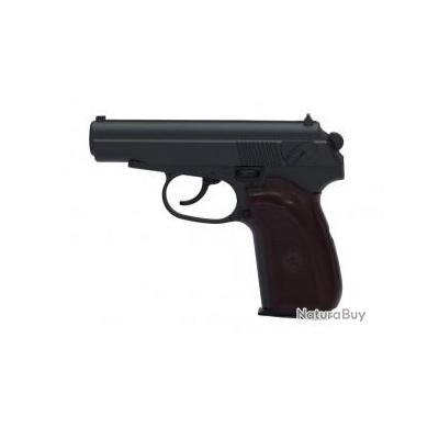Réplique pistolet à ressort Galaxy G29 Makarov full metal 0,5 joules