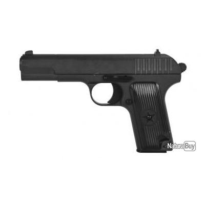 Réplique pistolet à ressort Galaxy G33 Tokarev full metal 0,5 joules