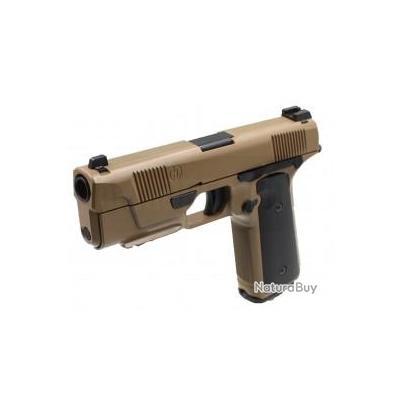 Réplique GBB Hudson H9 Parallel Training Weapon 0,95J Tan - Tokyo Marui
