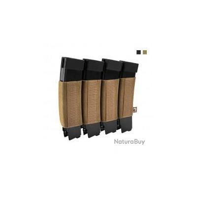 Porte chargeur Quad VX SMG noir Viper Tactical
