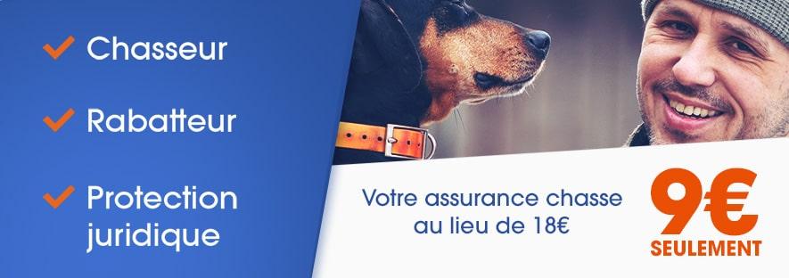 assurance du chasseur et des chiens de chasse