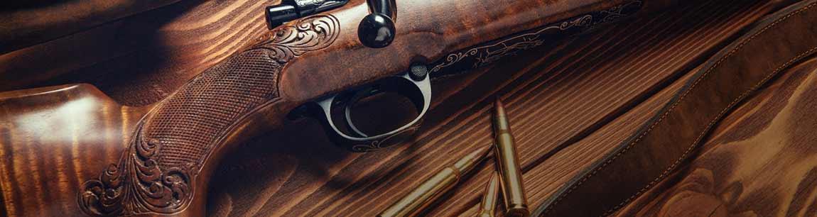 Chasse : fusils, carabines, archerie, lunettes et vêtements