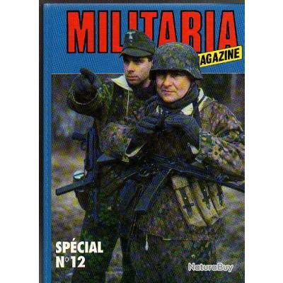 militaria magazine relié n° 12. revue 77 à 81