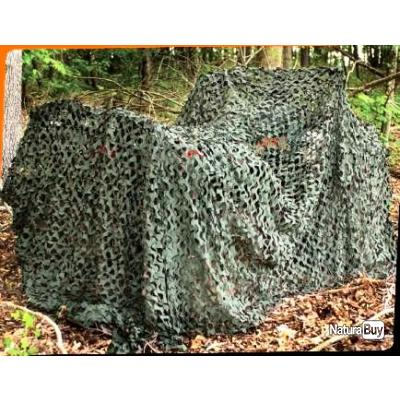 Filet camouflage woodland 3m 2 40m camping outdoor - Filet camouflage pour terrasse ...