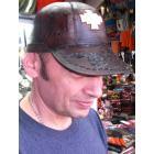 casquette neuve 100% en cuir