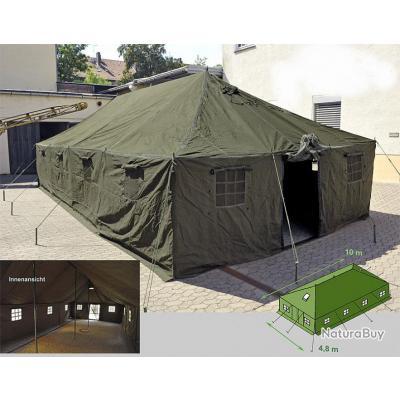 tente militaire grande 10m x 4 80m outdoor camping randonn e tentes militaria 357683. Black Bedroom Furniture Sets. Home Design Ideas