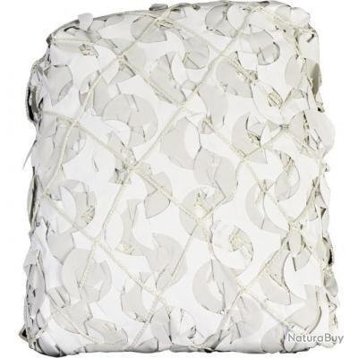 Filet camouflage blanc renforcé 6m x 3m, pergola, terrasse, rideaux, chasse militaire