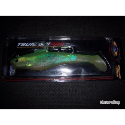 1 poissons nageur souple 23cm 200grsTRAINE JIG barracuda caranque