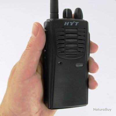 talkie walkie longue port e 0 5 5 watts hyt tc 446 pro. Black Bedroom Furniture Sets. Home Design Ideas