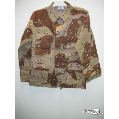 Veste camouflage désert stock américain 66200 elne surplus 66