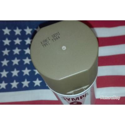 Spray 400ml peinture semi-mat kaki vert 1944/1949 ( et OTAN ) JEEP DODGE GMC bombe