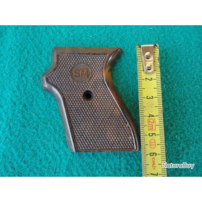 Plaquette gauche pistolet à blanc SM.